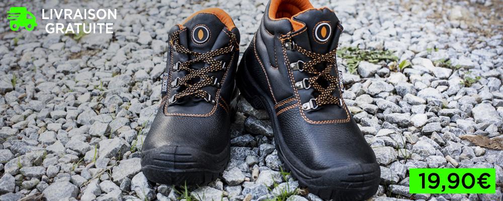 Les meilleures chaussures de sécurité d