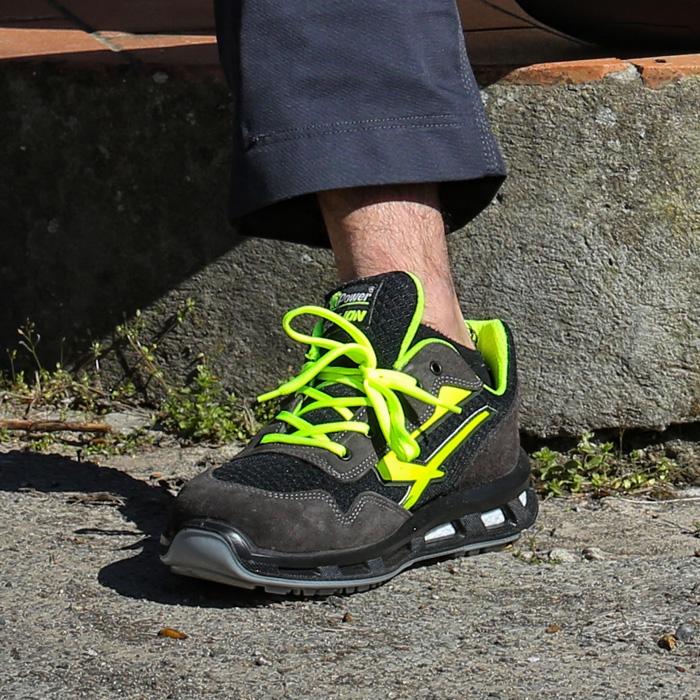 Détails sur Chaussures de sécurité U Power Yellow S1P SRC Nouveau pour octobre 2018