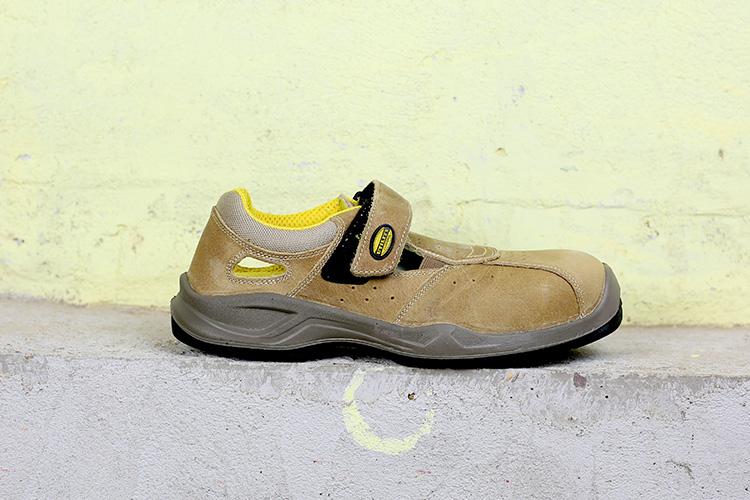 Basisfot s1p sécurité chaussures de sécurité sandale Travail Chaussures metallfrei Velcro