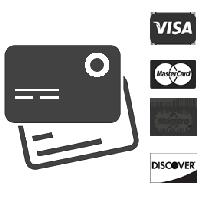 Payer par carte de crédit ou par carte prépayée