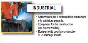 Saldatrice inverter Deca: linea industrial