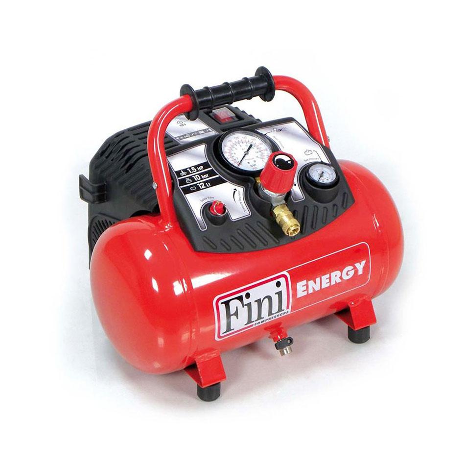 Compresseur d'air 12L 1,5CV Portatif  FINI  ENERGY 12