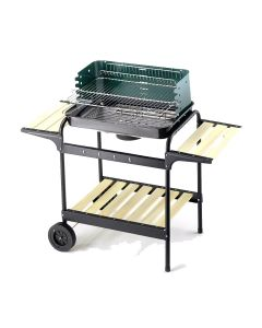 Barbecue au charbon Ompagrill 60-40 Green/W