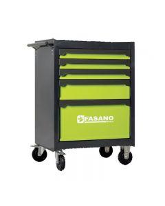 Chariot à outils Fasano FG BEST125 complet avec roues