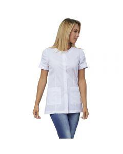 Femme manteau Siggi Flavia art blanc. 28CS1422