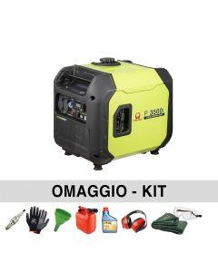 Générateur de courant silencieux 3,3 Kw Pramac P3500I
