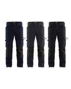 Pantalon de travail Blaklader 1989 Artisan Stretch 4 vie X1900