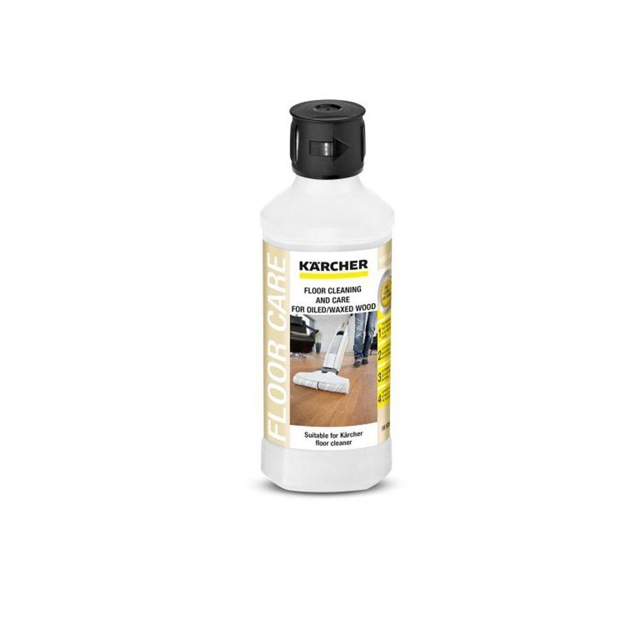 Nettoyant pour sols Karcher avec 500 ml de cire RM 535