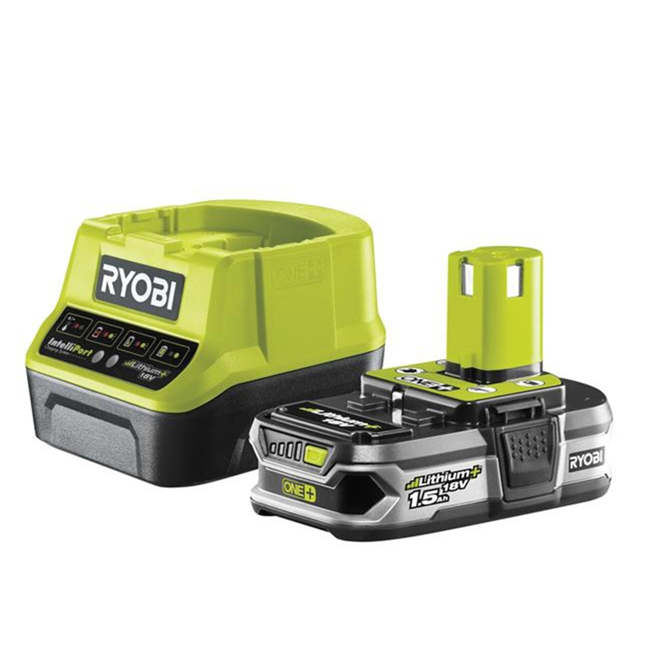 Kit Batteries et Chargeus Ryobi RC18120-115 18V