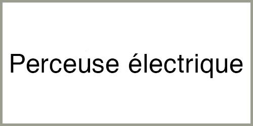 Perceuse à percussion électrique