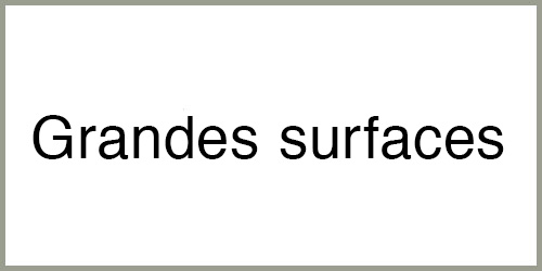 Grandes surfaces